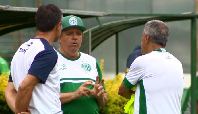 Oswaldo Alvarez técnico Guarani (Foto: Jefferson Barbosa / EPTV)