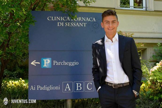 Dybala é o novo reforço do Juventus (Foto: Reprodução/Site:juventus.com)