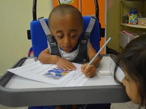 Davi se destaca pela grande capacidade cognitiva (Foto: Lineia Fernandes / Divulgação)