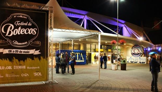 Festival de Botecos ocorreu em Blumenau (Foto: RBS TV/Divulgação)