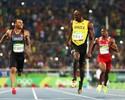 Bolt brinca com rival e avança à final dos 200m; Gatlin fica fora da briga