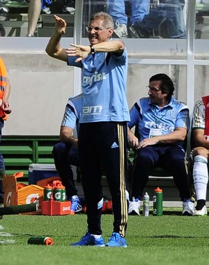 Palmeiras x Goiás - Oswaldo de Oliveira (Foto: Marcos Ribolli)