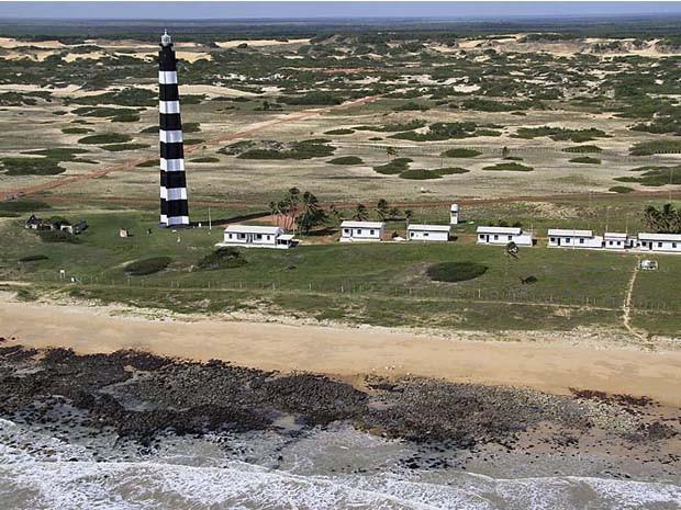 Farol do Calcanhar, também chamado de Farol de Touros (Foto: Canindé Soares)