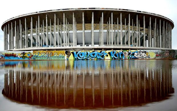 estádio Nacional de Brasília Mané Garrincha Copa (Foto: Reuters)