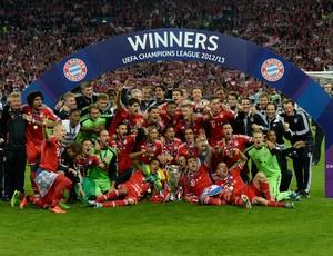 Bayern de Munique campeão (Foto: AFP)