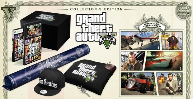 0b2cd2f62d77c Edição de colecionador do game  Grand Theft Auto V  (Foto  Divulgação