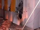 Agência bancária é destruída após explosão de caixa em Porto Rico