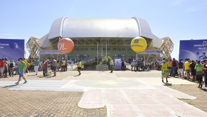 Aecim Tocantins, ginásio (Foto: Robson Boamorte)