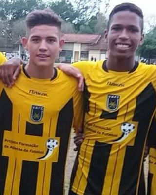 Caio Rosa e Juninho deixam o Voltaço e vão para grandes do Rio (Foto: Divulgação/VRFC)