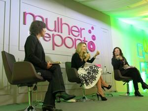 Mirian Goldenberg, antropóloga, também participou do debate (Foto: Isabela Marinho/G1)