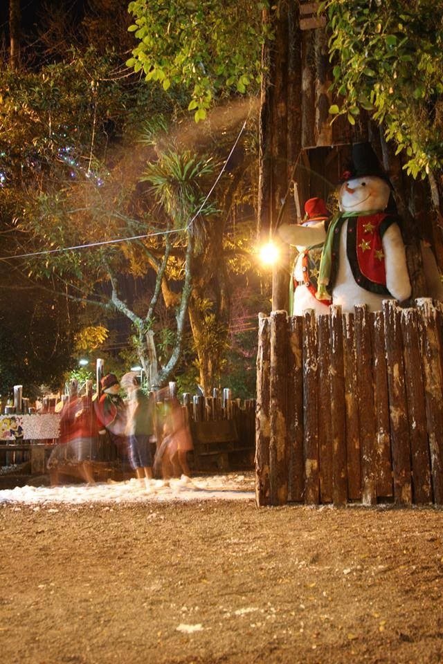 Praça de Natal terá neve artificial em Pomerode (Foto: Weihnachtsplatz/Divulgação)