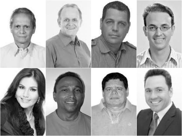 Deputados federais eleitos no Acre (Foto: Editoria Arte)