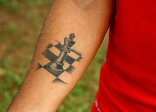 internacional inter Andrigo tatuagem (Foto: Eduardo Deconto/GloboEsporte.com)