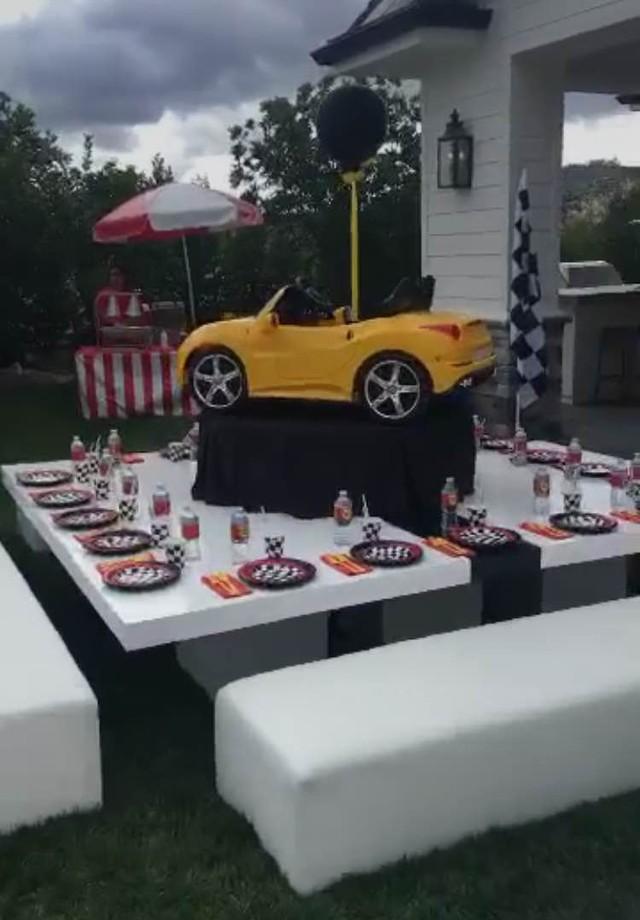 Decoração do aniversário  (Foto: Reprodução)