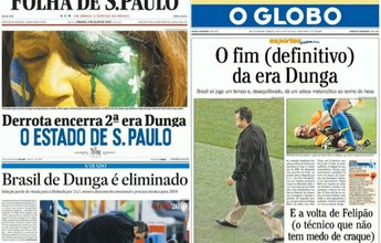 """Há cinco anos, jornais destacavam fim da """"Era Dunga"""", e Felipão era a aposta"""