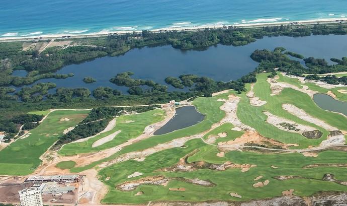 Campo de golfe olímpico outubro (Foto: Renato Sette Câmara / Prefeitura do Rio)