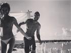 Uriel del Toro posta foto romântica com Isis Valverde: 'Curta a vida'