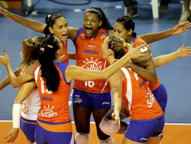 vôlei equipe osasco  (Foto: Fabio Rubinato / AGF / Divulgação)