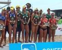 Campeão nos dois naipes, Brasil leva quatro duplas ao pódio em Lima