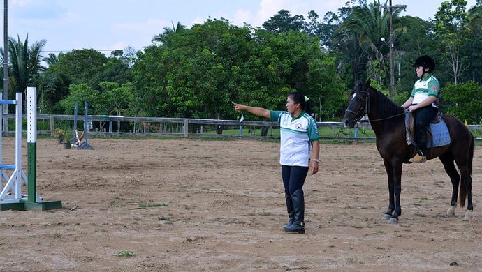 Equitação é uma das maneiras de ajudar o atleta com autismo (Foto: Jheniffer Núbia)