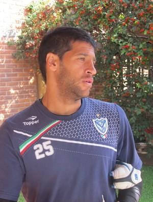 Sebá Dominguez do Vélez Sarsfield (Foto: Marcelo Hazan / globoesporte.com)