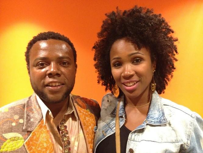 Érico Brás e a mulher, a produtora e atriz Kenia Maria (Foto: Vitor Moreno/Gshow)