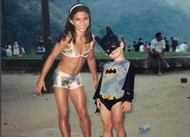 Jade Barbosa e o irmão Pedro (Foto: Reprodução/Instagram)