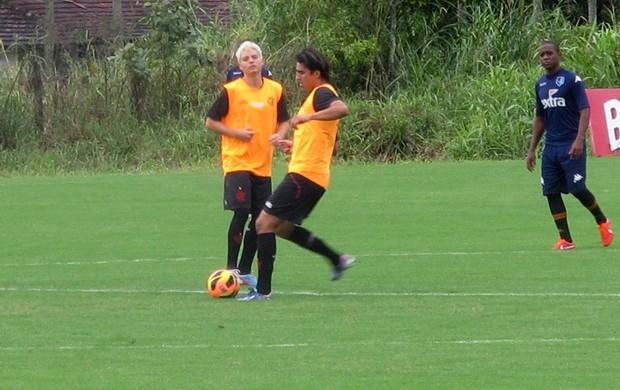 Marcelo Moreno treino Flamengo (Foto: Fabio Leme)