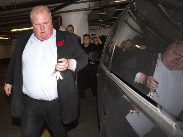 Rob Ford, prefeito de Toronto  (Foto: Fred Thornhill/Reuters)