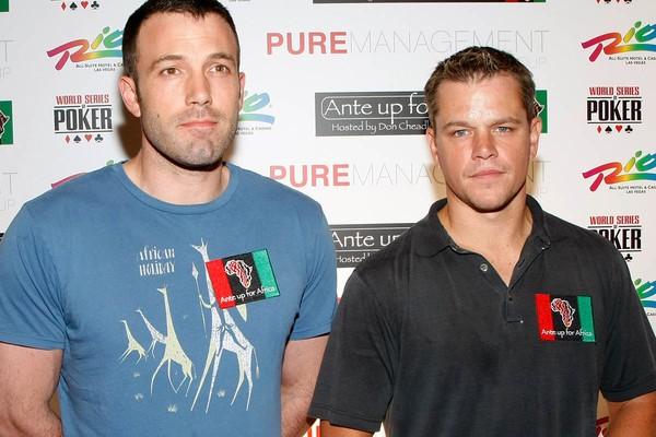 Matt Damon e Ben Affleck são amigos de adolescência e também já dividiram um apartamento juntos  (Foto: Getty Images)