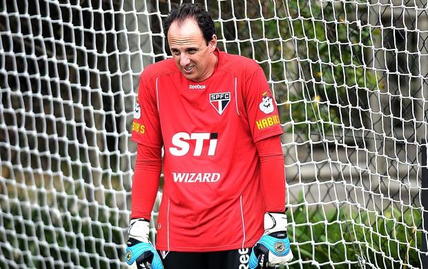 Rogério Ceni o no treino do São Paulo (Foto: Dorival Rosa / Vipcomm)