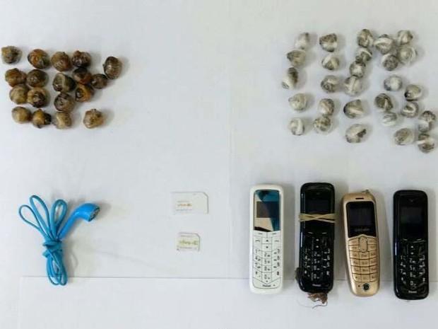 Material foi expelido pelos detentos nesta quinta-feira (12) (Foto: Cedida)