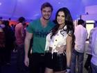 Thor Batista vai ao Rock in Rio com namorada