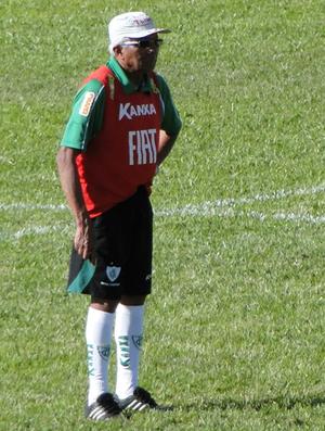 Givanildo Oliveira, técnico do América-MG (Foto: Leonardo Simonini/Globoesporte.com)