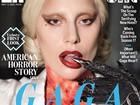 Lady Gaga divulga 'American horror story' em nova capa de revista