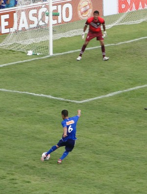 Mamoré x Cruzeiro (Foto: Marco Antônio Astoni)