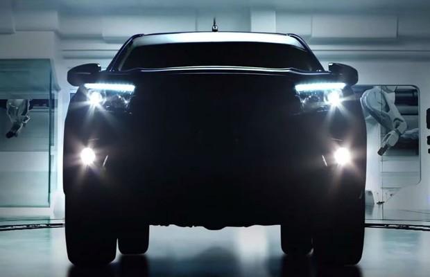 Toyota divulga mais um tease da nova Hilux (Foto: Divulgação)