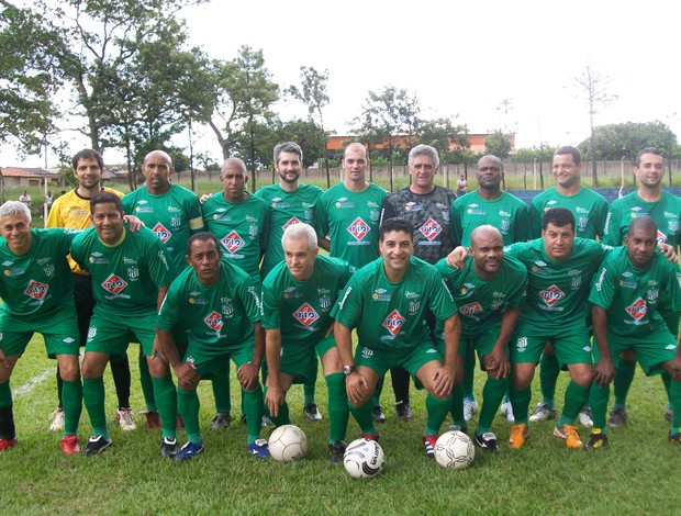 Time máster do Uberlândia Futebol Clube (Foto: Divulgação)