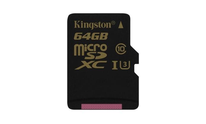 Novos cartões microSD da Kingston são ideais para gravação 4K e à prova d'água (Foto: Divulgação/Kingston)