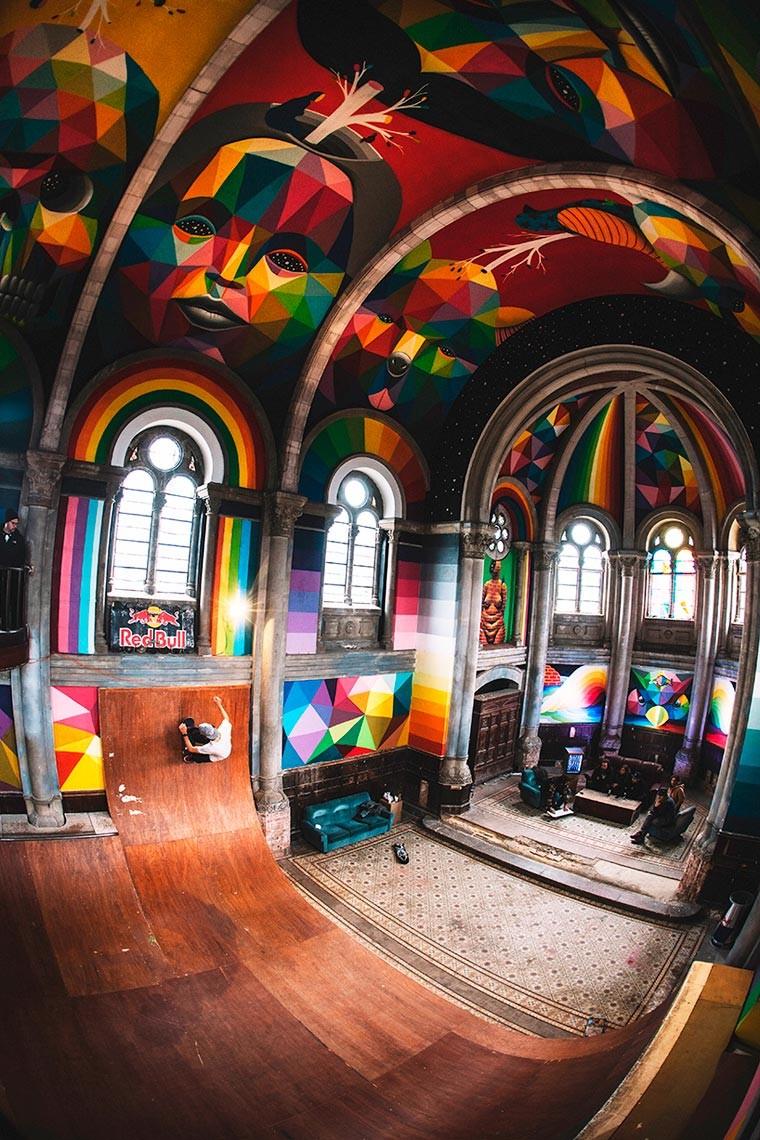 skate 2 (Foto: RED BULL media / La iglesia skate)