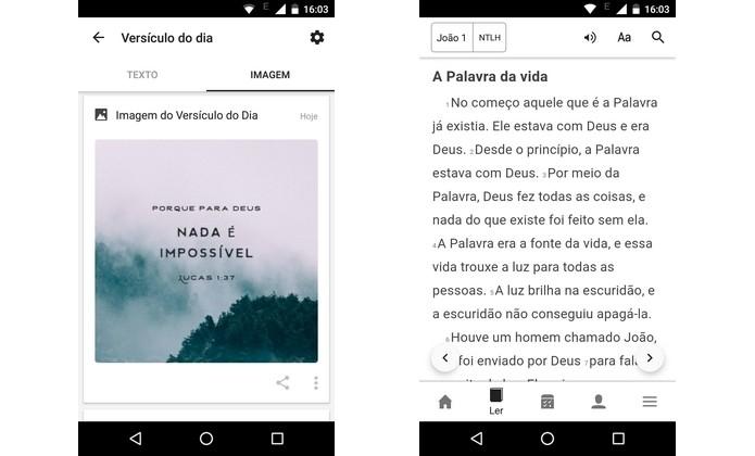 App B�blia Sagrada, da Life.Church, gr�tis para Android e iOS (Foto: Reprodu��o/Raquel Freire)