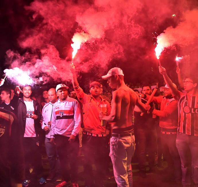 Torcida São Paulo x Atlético-MG (Foto: Marcor Ribolli)