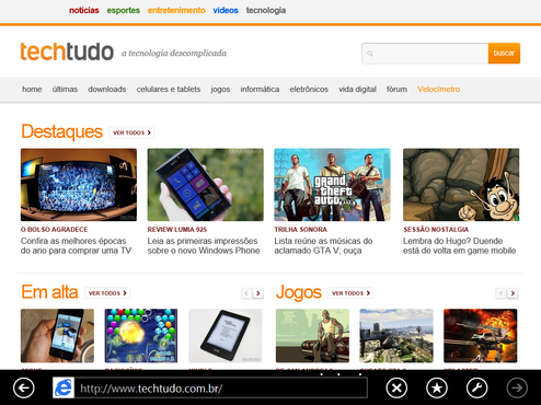 screenshot de Windows 8.1