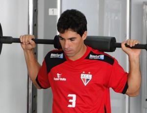 Marcos, lateral-direito do Atlético-GO (Foto: Divulgação/Atlético-GO)