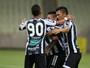 Com gol de Rafael Costa, Ceará bate o Tiradentes na Arena Castelão