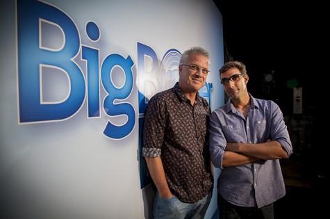 Pedro Bial e Rodrigo Dourado  (Foto: TV Globo)