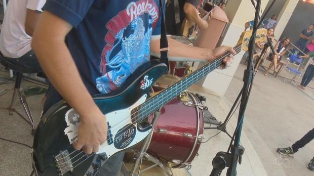 bom dia amazônia, amapá, banda, escola, música (Foto: Bom Dia Amazônia)
