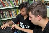 Estudantes criam teclado para os cegos                      (Reprodução TV)