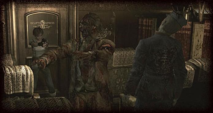 Resident Evil Zero HD Remaster: zumbis são fracos, mas podem ser perigosos se estiverem em grupo (Foto: Divulgação/Capcom)