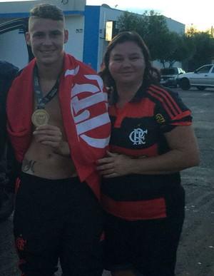Matheus Sávio Flamengo Brodowski (Foto: Arquivo pessoal / Matheus Sávio)